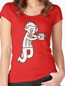 Doodle Jawn Women's Fitted Scoop T-Shirt