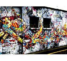 Urban Invasion Photographic Print