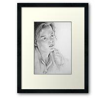Renée Zellweger as Miss Potter Framed Print