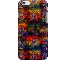 Colored butterflies iPhone case iPhone Case/Skin