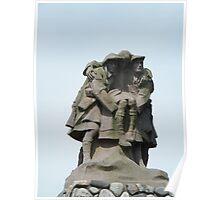 War Memorial, Oban Poster