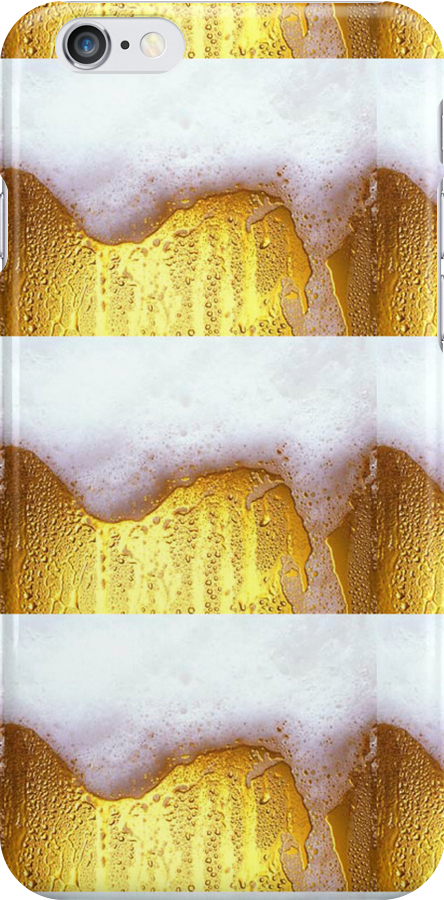 Beer patterned iPhone case by Artual