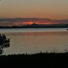 Bribie Island Sunset - nearly dark by STHogan