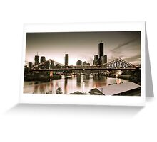 Vintage Brisbane Greeting Card