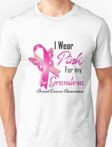 i wear pink for my grandma Unisex T-Shirt