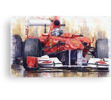 Ferrari 150 Italia Fernando Alonso F1 2011  Canvas Print