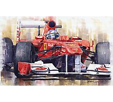 Ferrari 150 Italia Fernando Alonso F1 2011  Photographic Print