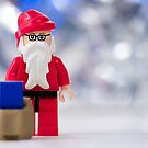 Lego Santa Claus by Kevin  Poulton - aka &#x27;Sad Old Biker&#x27;
