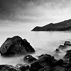 Serene and mystical Black and White Seascape by Eduardo Ventura