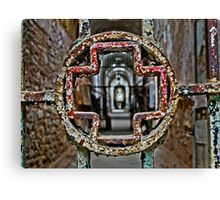 Cell Block Three Revisited Canvas Print