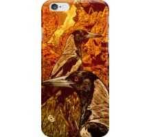 Magpies iPhone Case/Skin