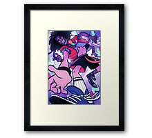 Ultimate 80s Time Traveling Teen Framed Print