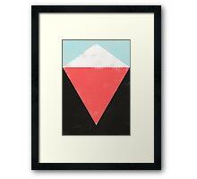 HERE Framed Print