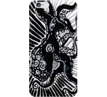 Black and White Octopus iPhone Case/Skin