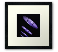 The Lights in the City, Looking very Pretty Framed Print