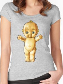 Kewpie! Women's Fitted Scoop T-Shirt