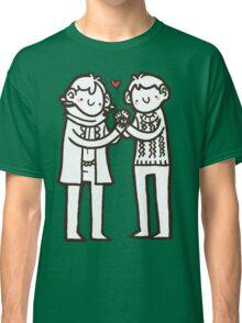 Sherlock and John Classic T-Shirt