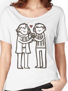 Sherlock and John Women's Relaxed Fit T-Shirt