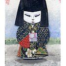 Japanese Paper Doll by dvampyrelestat
