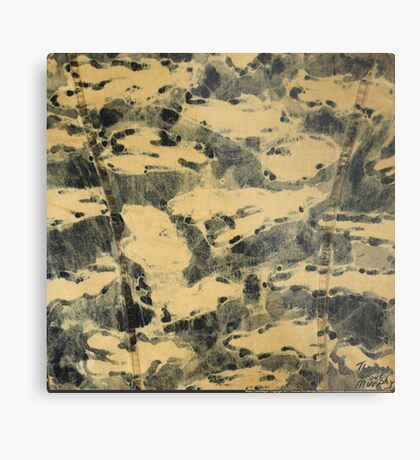 Water Camouflage Metal Print