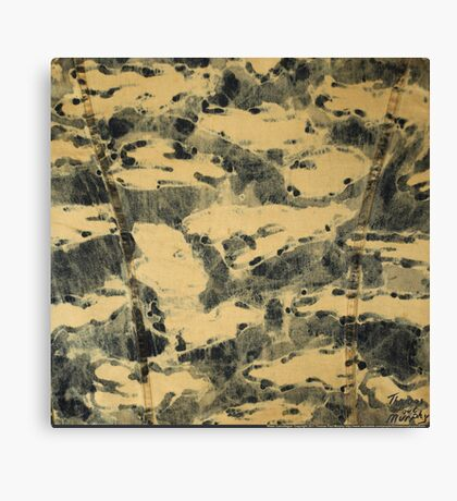 Water Camouflage Canvas Print