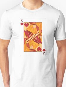 King of Hearts Playing Card Unisex T-Shirt