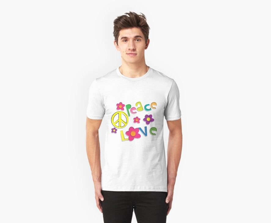 Hippie Tee by randomness