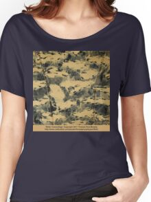 Water Camouflage  Women's Relaxed Fit T-Shirt
