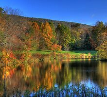 Colors of October by Sharon Batdorf