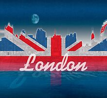 London skyline by Carol and Mike Werner