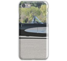 1958 Corvette Roadster 'On Location' I iPhone Case/Skin