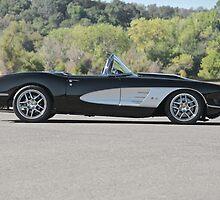 1958 Corvette Roadster 'On Location' I by DaveKoontz