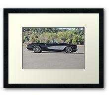 1958 Corvette Roadster 'On Location' I Framed Print