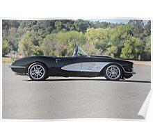 1958 Corvette Roadster 'On Location' I Poster