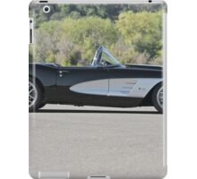 1958 Corvette Roadster 'On Location' I iPad Case/Skin
