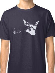 Cat Nap - One Color Vector Classic T-Shirt