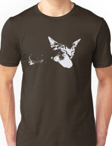 Cat Nap - One Color Vector Unisex T-Shirt
