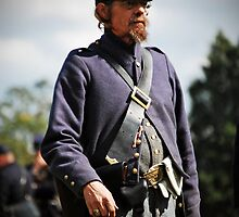 The Civil War Reenactor-1144 by Michael Byerley