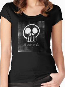 Boris Karloff Women's Fitted Scoop T-Shirt