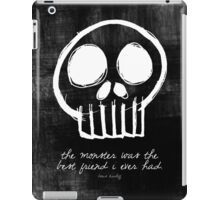 Boris Karloff iPad Case/Skin
