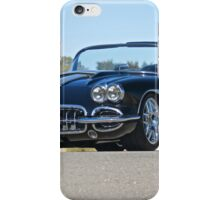 1958 Corvette Roadster 'On Location' II iPhone Case/Skin