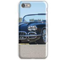 1958 Corvette Roadster 'On Location' II iPhone Case/Skin