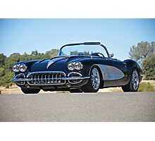 1958 Corvette Roadster 'On Location' II Photographic Print