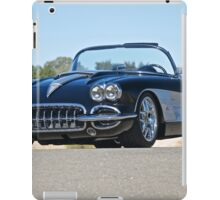 1958 Corvette Roadster 'On Location' II iPad Case/Skin