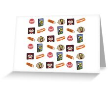 Scottish Food Treats Greeting Card