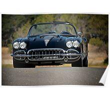 1958 Corvette Roadster 'On Location' III Poster