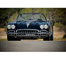 1958 Corvette Roadster 'On Location' III Photographic Print