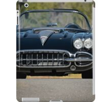 1958 Corvette Roadster 'On Location' III iPad Case/Skin