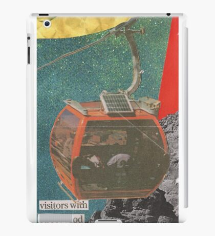 Visitors With Street-Food iPad Case/Skin
