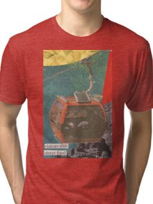 Visitors With Street-Food Tri-blend T-Shirt